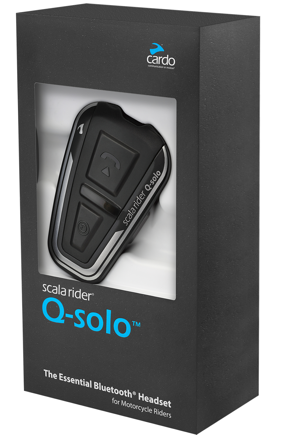 Q-Solo (bluetooth headset) — Cardo Systems