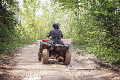 Man on an ATV