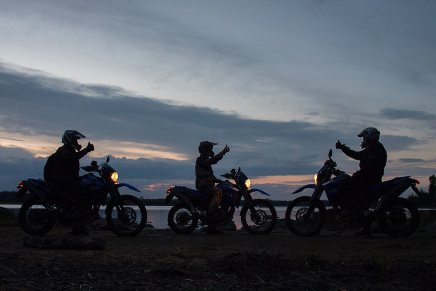 Forest Group of riders