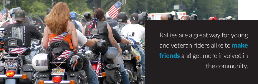 Motorcycle Rally Quote
