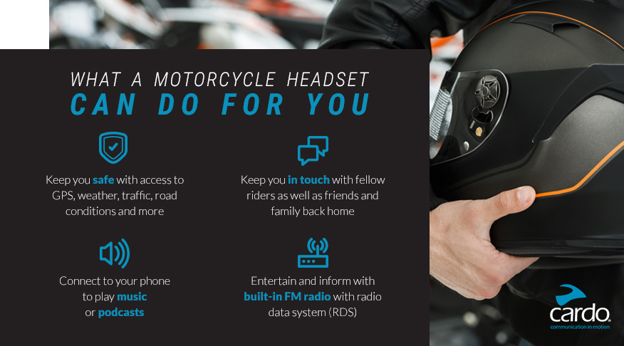 What a Motorcycle Headset Can Do for You