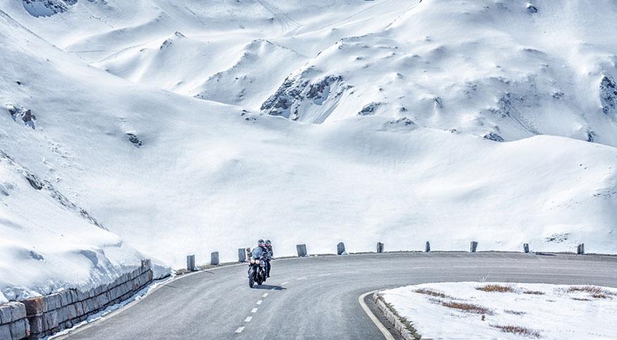alpine road in austria
