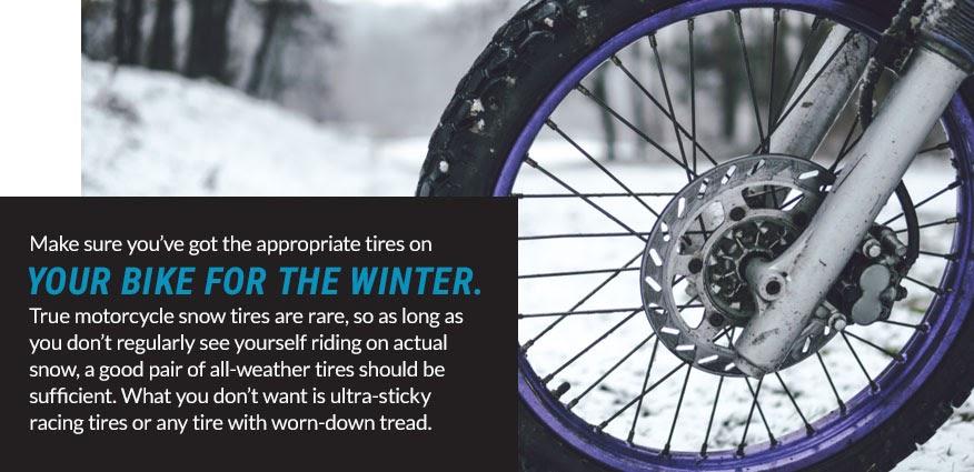 Winter Motorcycle Maintenance Tips