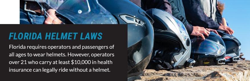 florida helmet laws quote