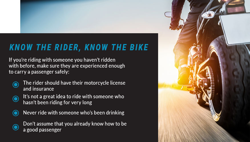 know rider know the bike graphic