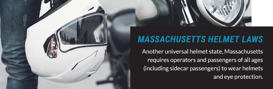 massachusetts helmet laws quote