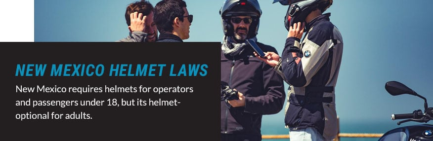 new mexico helmet laws quote