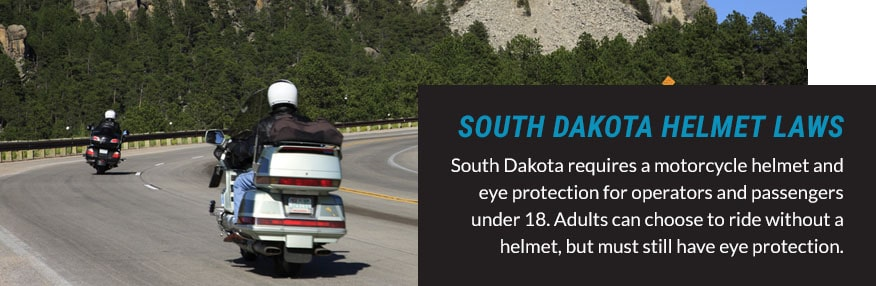 south dakota helmet laws quote
