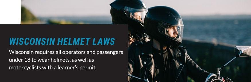 wisconsin helmet laws quote