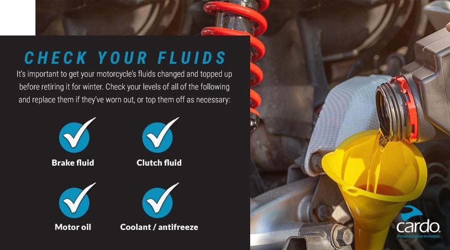 Check your fluids