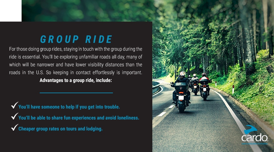 Group Ride Infographic