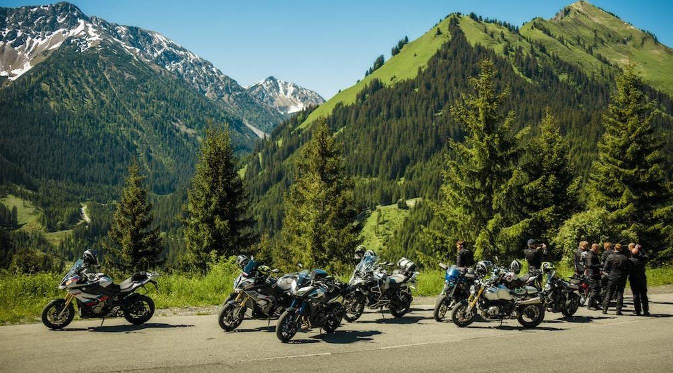 biker friends in europe