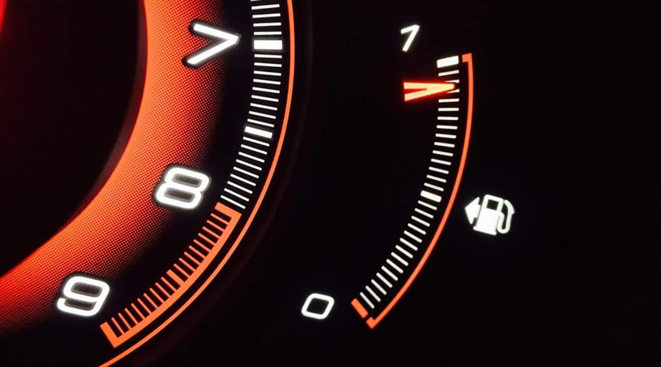 car fuel gauge meter