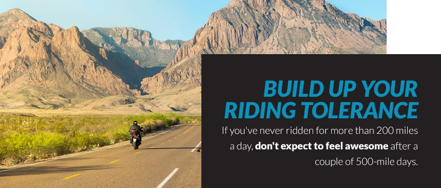 Build Up Your Riding Tolerance