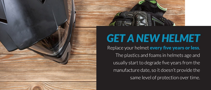 Get a New Helmet