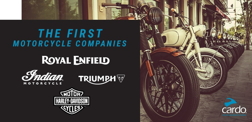 The First Motorcycle Companies