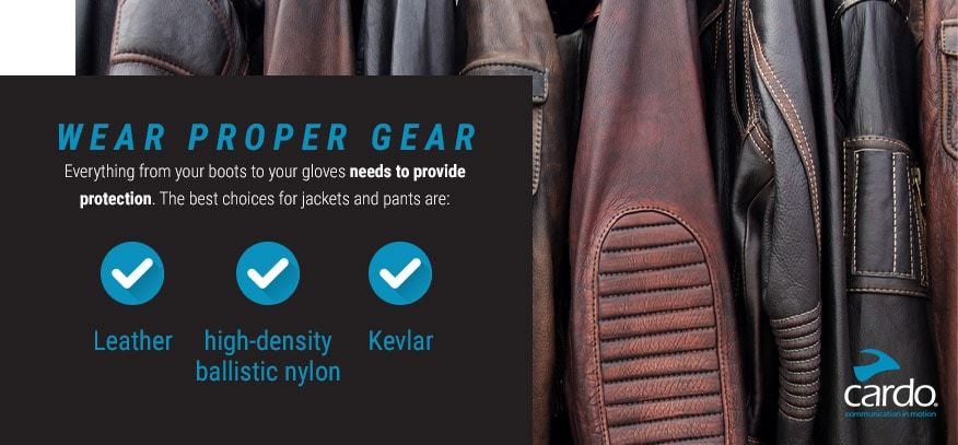 Wear Proper Gear