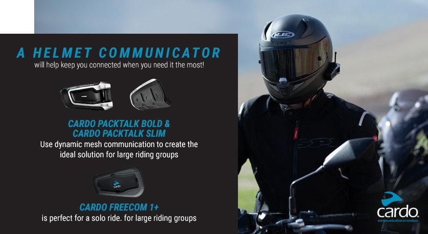 a helmet communicator