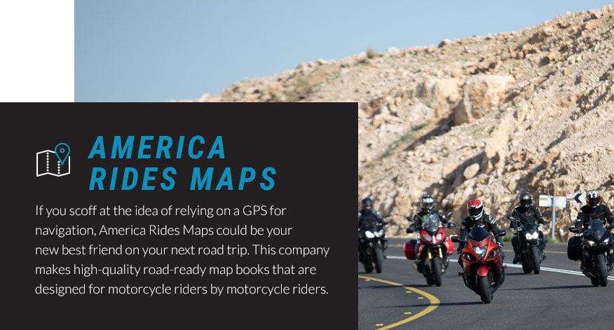 america rides maps road trip graphic