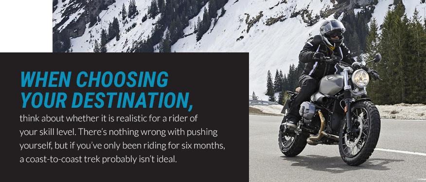 choosing your destination graphic