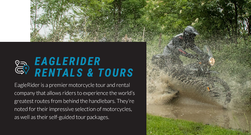 eagle rider rentals and tours graphic