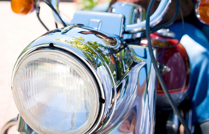 motorcycle headlight focus