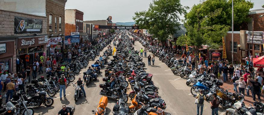 Annual motorbike Rally