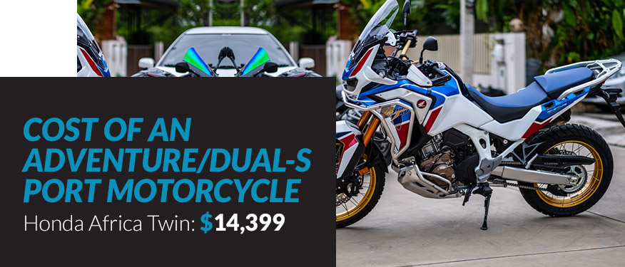 Cost of an Adventure Dual-Sport Motorcycle