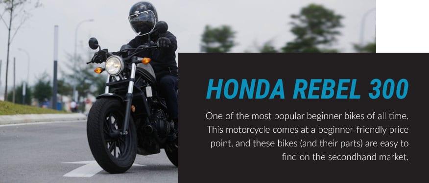 Honda Rebel 300 motorcycle