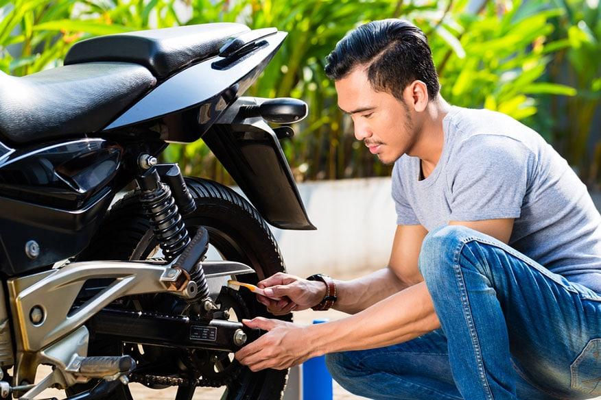 repairing motorcycle brakes