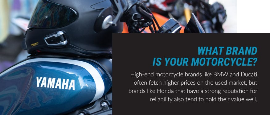 What brand is your motorcycle