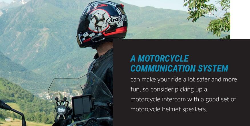 motorcycle communication system