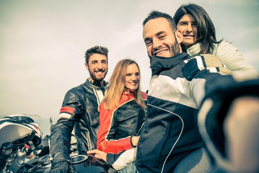 bikers-taking-selfie