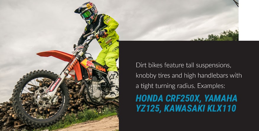 examples of dirtbikes