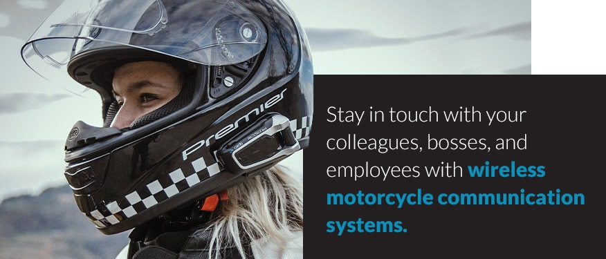 wireless motorcycle communication systems