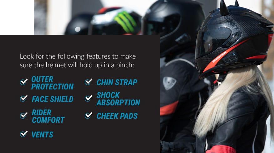 essential helmet features