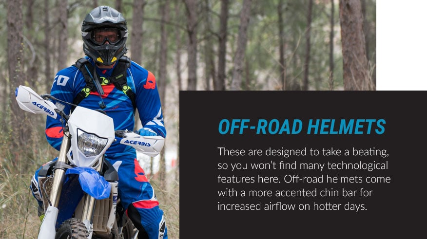 off-road helmets
